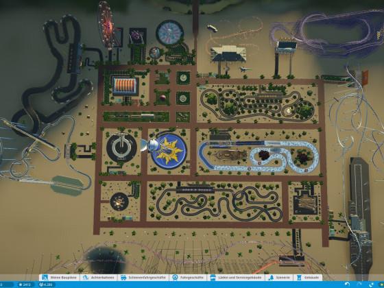 1.Versuch für einen Park in Planet Coaster