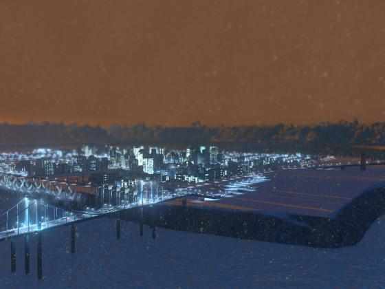 Eismeer Wintermap